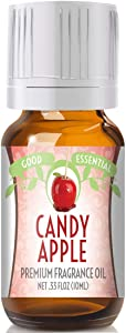 Candy Apple Scented Oil by Good Essential (Premium Grade Fragrance Oil) - Perfect for Aromatherapy, Soaps, Candles, Slime, Lotions, and More!