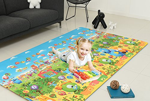 CrawLNRoll Eco-friendly Baby playmat_Kemy_Super Large by CrawLNRoll