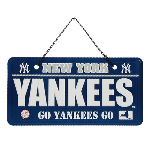 Ny Yankees Sign - FOCO New York Yankees License Plate Sign