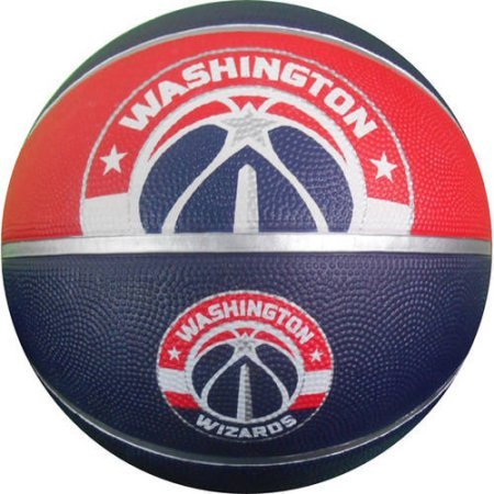 fan products of Spalding NBA Washington Wizards Courtside Rubber Basketball