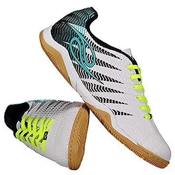 Chuteira Dalponte Wembley Futsal Branca  Amazon.com.br  Esportes e ... e72703e733349