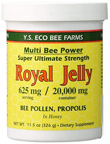 YS Organic Bee Farms - Multi Bee Power Royal Jelly 625 mg. - 11.5 oz. - Raw Royal Jelly
