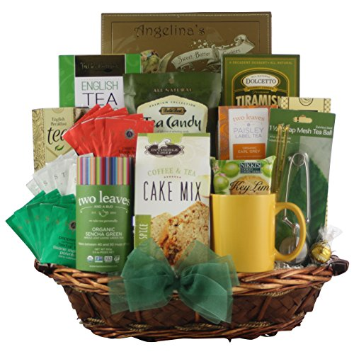 GreatArrivals Gift Baskets For The Love Of Tea: Gourmet Tea Gift Basket by GreatArrivals Gift Baskets