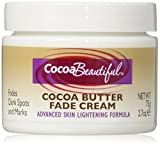 Cocoa Beautiful Cocoa Butter Formula Fade Cream, Advanced Skin Lightening Cream, 2.7 oz. (Pack of 2)