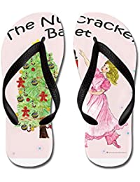 Nutcracker_Clara07_Snowb - Flip Flops Funny Thong Sandals Beach Sandals