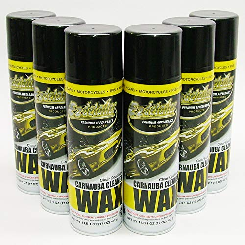 (EZ WAX 579221 Premium EZ Detailer Waterless Cleaning Wax 6 Pack)