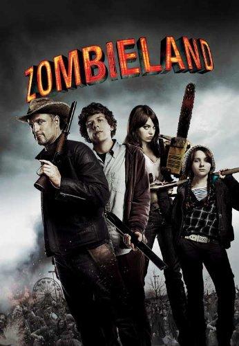 Zombieland Movie Poster (27 x 40 Inches - 69cm x 102cm) (2009) UK Style C -(Amber Heard)(Emma Stone)(Bill Murray)(Abigail Breslin)(Woody Harrelson)(Jesse Eisenberg)