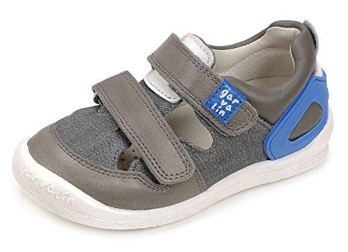 Garvalín 172451, Zapatillas para Niños Gris (Marengo /     Grey /     Kaiser /     Pique)