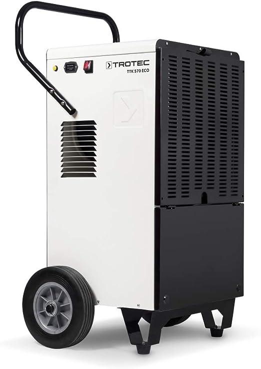 Opinión sobre Trotec TTK 570 ECO - Deshumidificador industrial (máx. 127 litros/24 h) para habitaciones de hasta 600 m²/950 m³)