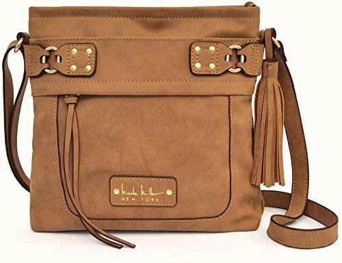 nicole-miller-new-york-diva-handbag-one-size-saddle-brown