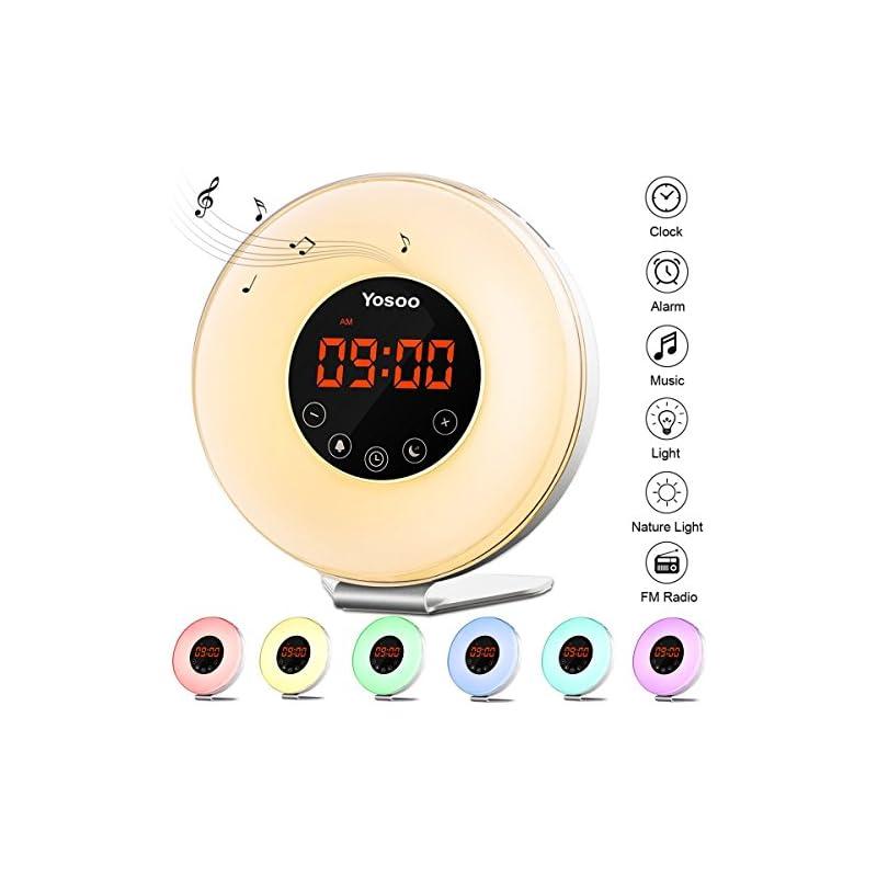 Sunrise Alarm Clock, Yosoo Wake Up Light
