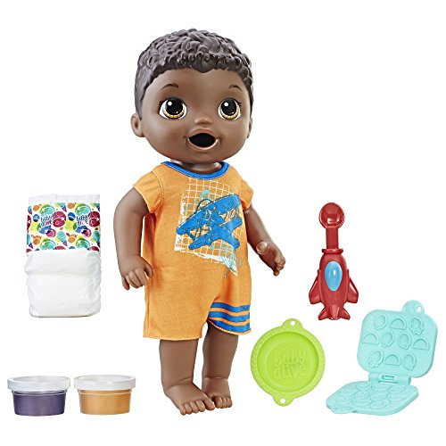 Third Party New : Baby Alive Super Snacks Snackin' Luke (African American)