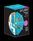 DylonTeinture à tissu pour machine à laver, couleur bleu Bahama (350g) avec sel