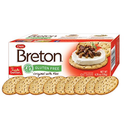 Dare Products Breton Crackers with Flax Original -- 4.76 oz