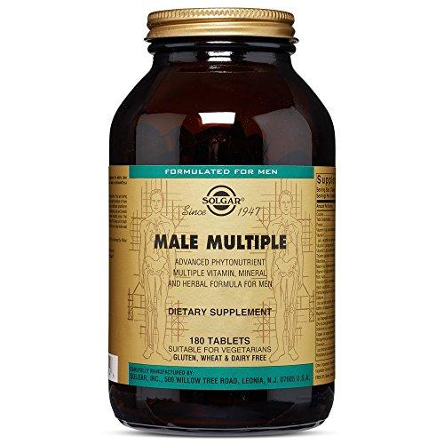 (Solgar – Male Multiple, 180 Tablets (FFP))