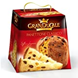 GranDucale Panettone Classico Recipe Made in Italy (Gourmet Sweet Bread Loaf) - 2 Pounds