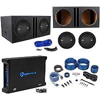 2 Polk Audio MM 1242 SVC 12 2520w Subwoofers+Vented Box+Mono Amplifier+Amp Kit