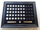 Black Display Frame for the 50 America the Beautiful Quarters (Not Included)
