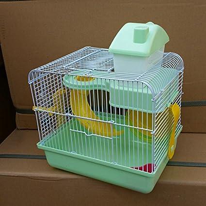 Pet Online Hamster cage casa de lujo de hámster con cinta de ...