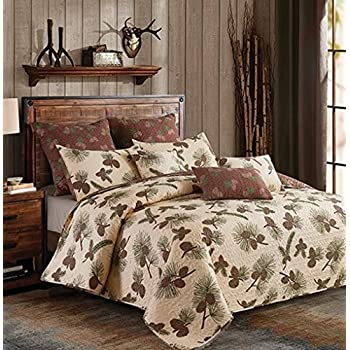Amazon Com Donna Sharp Pine Lodge Choose From Quilt