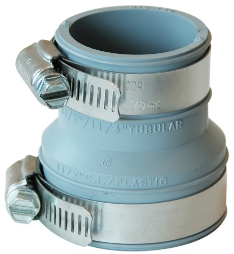 Fernco Inc. PDTC-150 1-1/2-Inch Drain and Trap Connector
