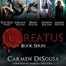Creatus Series Boxed Set Audiobook by Carmen DeSousa Narrated by Marcio Catalano