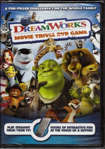 Dreamworks Movie Trivia DVD Game by DreamWorks