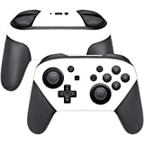 Cheap MightySkins Protective Vinyl Skin Decal for Nintendo Switch Pro Controller wrap cover sticker skins Solid White