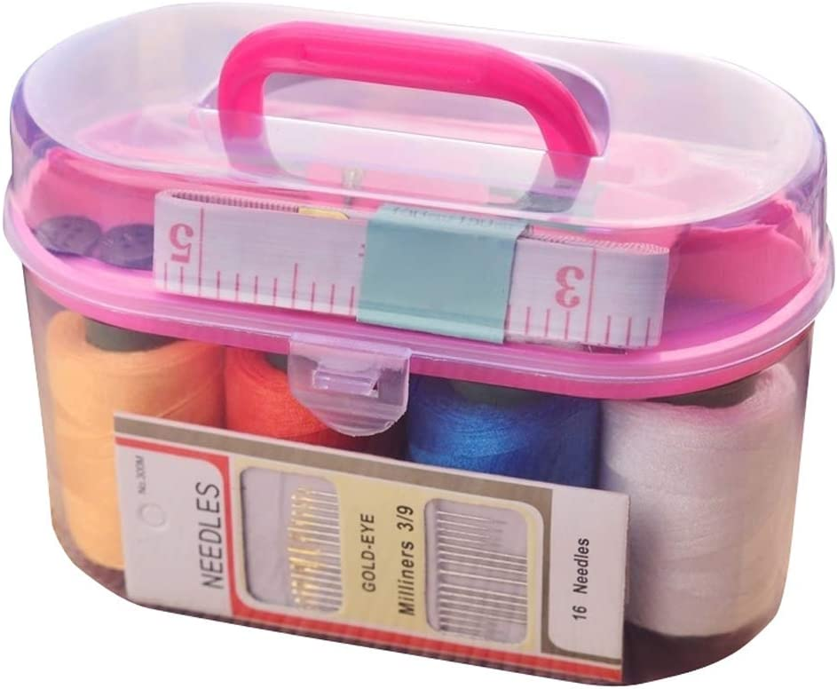 10 PCS 10 unidades Msleep Sewing Kits for Home Sewing Kit Accesorios Basic Professional Sewing Needles and Thread