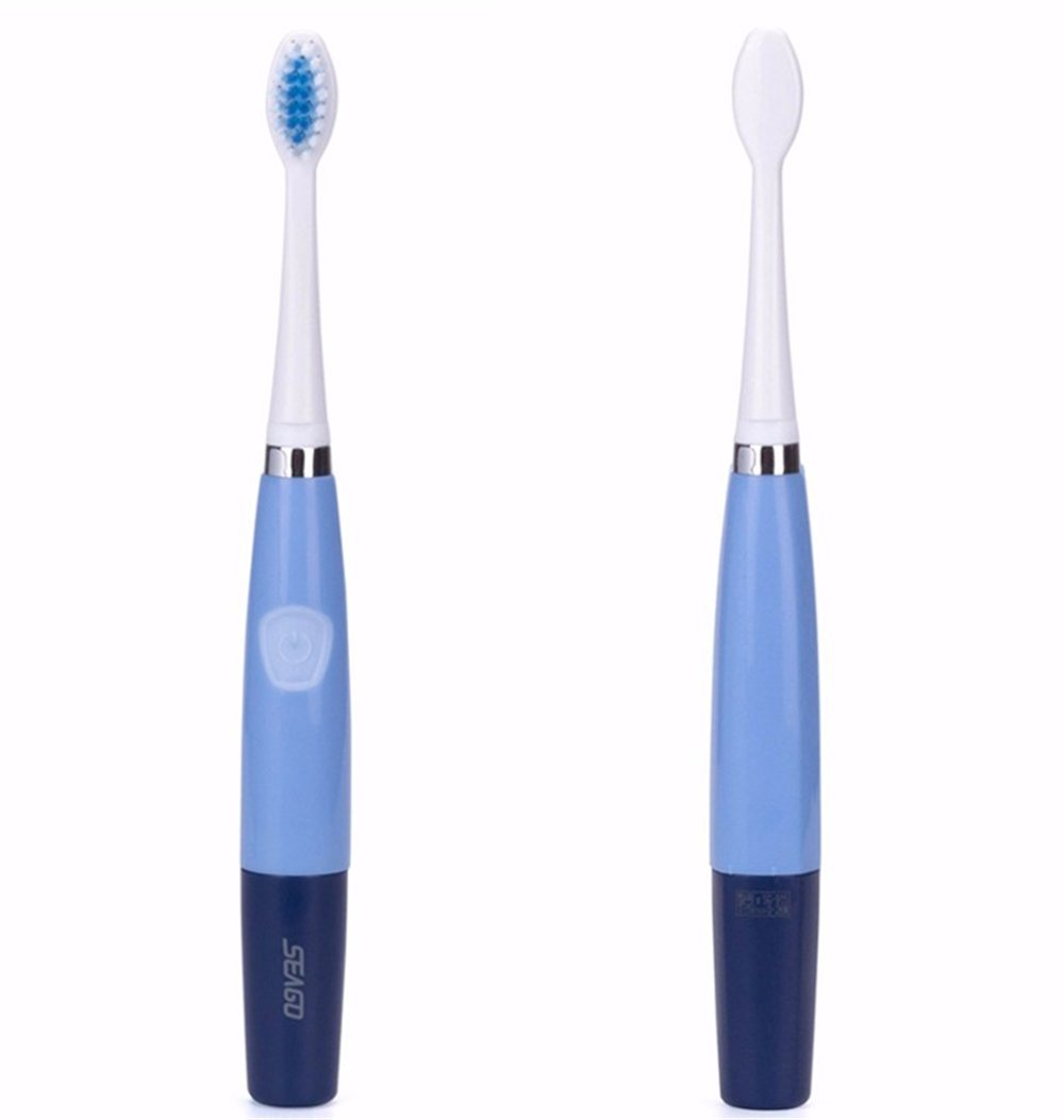 Lucktao Electric Brush Portable Tooth Brushes Portable Sonic Toothbrushes for Travel Oral Hygiene Bule