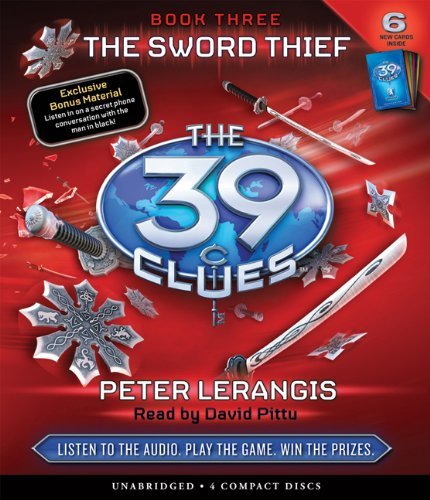 The Sword Thief (The 39 Clues, Book 3)  - Audio