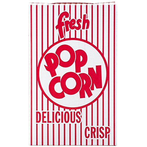 Great Western .74 oz. Close-top Cardboard Disposable Theater/Stadium Popcorn Box - 50 Pieces (Cardboard Popcorn Boxes compare prices)