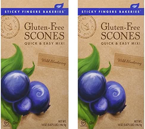 Baking Mixes: Sticky Fingers Gluten Free Scones
