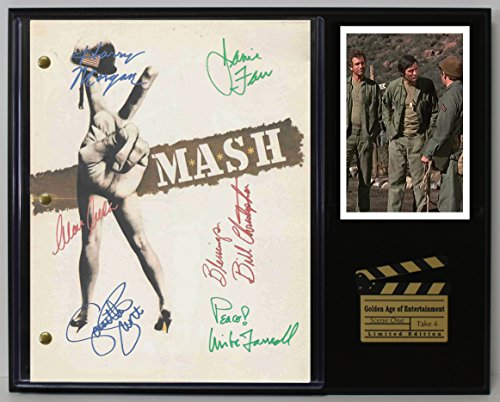 "MASH LTD EDITION REPRODUCTION SIGNED TELEVISION SCRIPT DISPLAY""C3"""