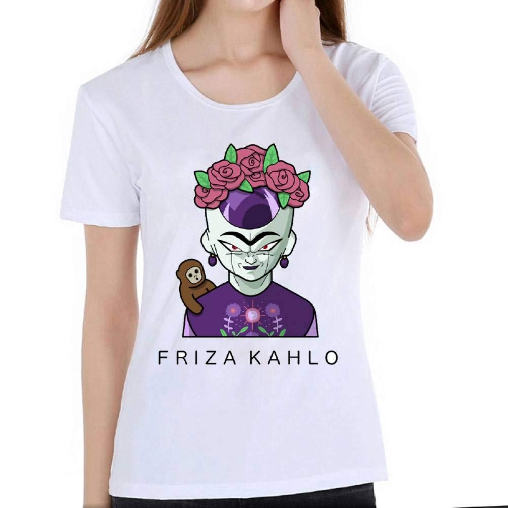LIULINUIJ Camiseta De Mujer Feminismo Camiseta Linda De Dibujos ...