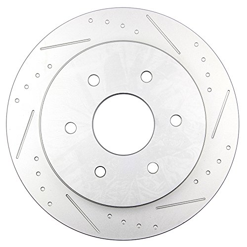 amazon cciyu front rear drilled slot 4 brake rotors 8 ceramic Nissan Titan King Cab Interior amazon cciyu front rear drilled slot 4 brake rotors 8 ceramic pads fit for 2004 2005 infiniti qx56 2005 nissan armada 2004 2005 nissan titan