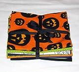 Eerie Alley Halloween Fat Quarter Fabric Bundle - 10 FQs