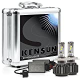 Kensun Super Bright Extreme Cree LED Headlight Conversion Kit - H4 (HB2) (9003) Dual- Beam