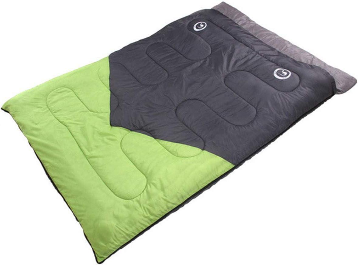 Zhoujianpeng ボート寝袋屋内ランチブレイク大人超軽量春と秋の夏の旅行カップルキャンプダブル寝袋