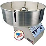 Paragon 7105100  Classic Floss Cotton Candy Machine with Metal Bowl for Professional Concessionaires Requiring Commercial Quality & Construction