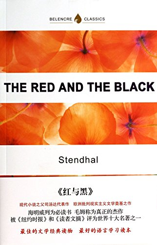 Book cover for The Red and the Black