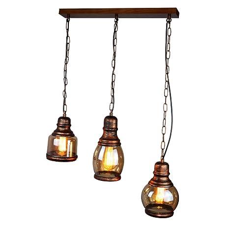 Vintage lámpara colgante País De Tipo retro industriales ...