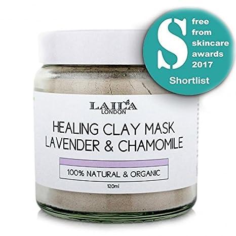 Laila London - Arcilla bentonita facial para tratamientos de ...