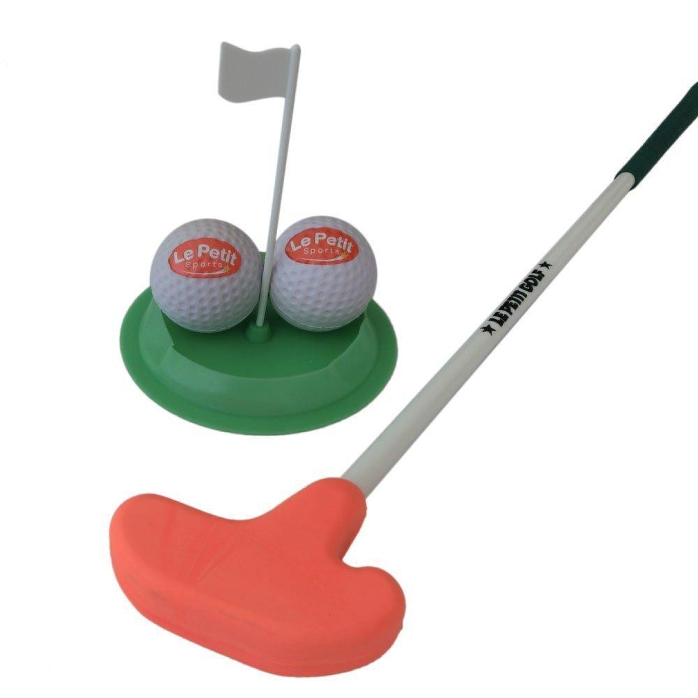 ゴルフパターセット 4~5歳用 レッドグリップ B00U3YH24K