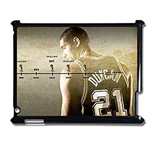 Clear Back Phone Cover For Guys For Apple Ipad 2 3 4 Print With Tim Duncan Choose Design 3