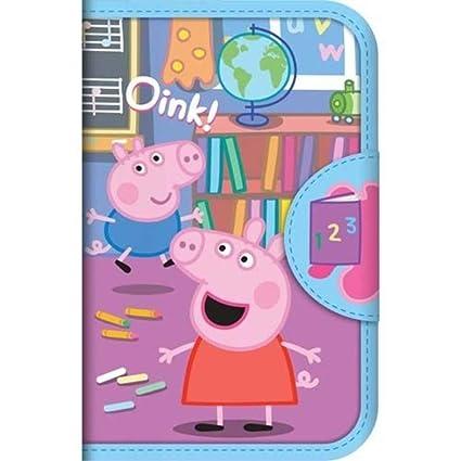 Peppa Pig - Estuche para lápices con relleno para niños ...