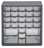 Stack-On DS-27 27 Drawer Storage Cabinet (Gray)