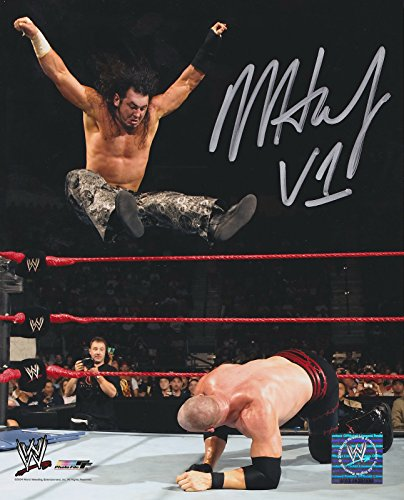 Hardy Signed Baseball - MATT HARDY SIGNED 8x10 OFFICIAL PRO PRINT PHOTO FILE INSCRIBED V1 VERSION 1 WWE