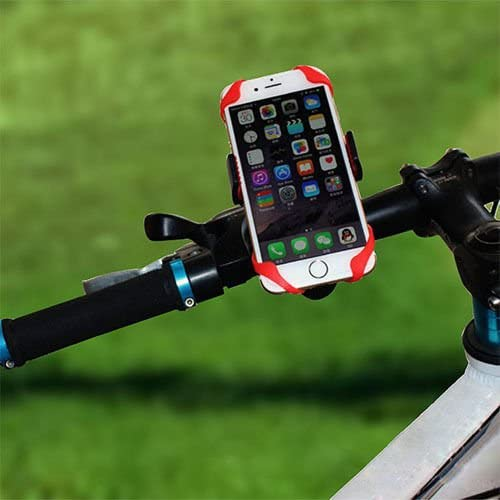 Green Adjustable Cell Phone Mount for Bicycle and Motorcycle SIATKE 1Pc Universal Bike Mount with Compass