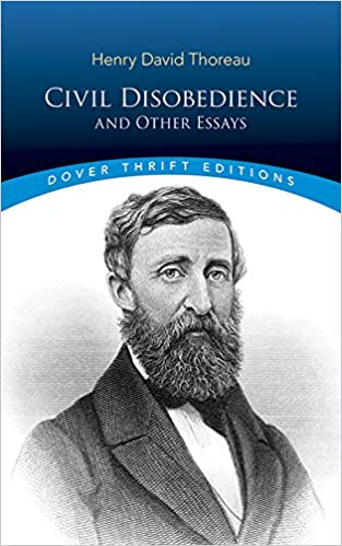 an essay on civil disobedience by thoreau Civil disobedience and thoreau essays examine an essay written by one of the great american writers of the 19th century.